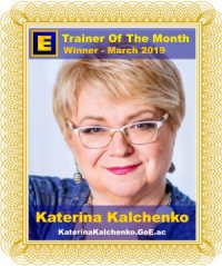 GoE Trainer of the Month - March 2019