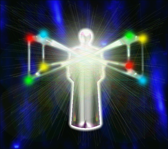 Spiritual Healing Angel Energy Diagram